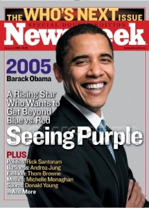 Obama Seeing Purple